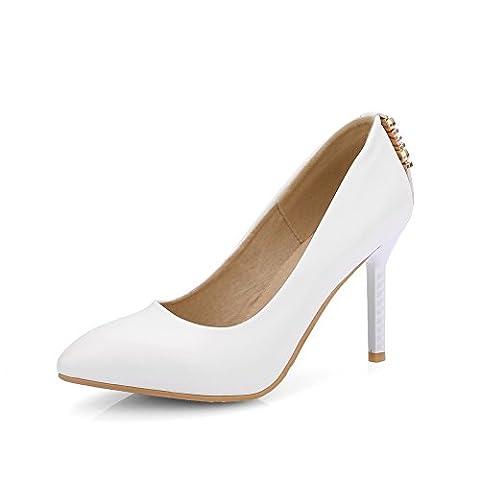 BalaMasa , Sandales Compensées femme - blanc - blanc,