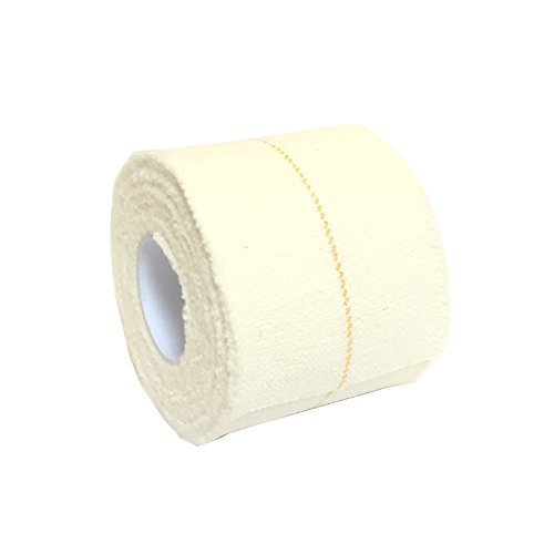 6 ROLLS OF 5CM x 4 5M QUALICARE PRO EAB ELASTIC ADHESIVE BANDAGE ATHLETIC SPORTS RUGBY LIFTING FOOTBALL KNEE ANKLE ELBOW WRIST JOINT SUPPORT TAPE STRAPING WHITE