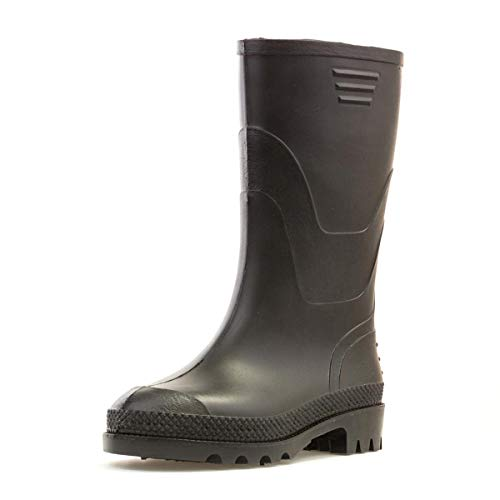 ZONE - Kids Black Wellington Boots
