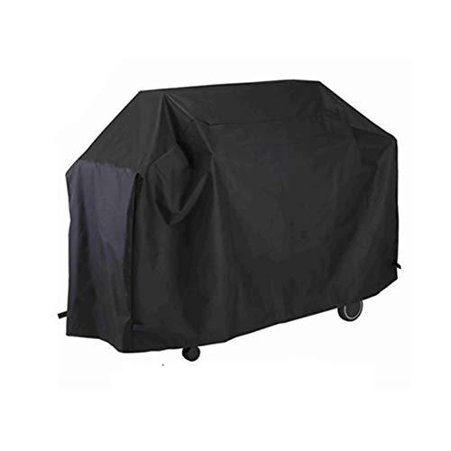 Housse de Protection Couverture extérieure noire de meubles de jardin pour le support de gril, la couverture antipoussière de table et de chaise, tissu de 210D Oxford (taille : 190 * 71 * 117cm)
