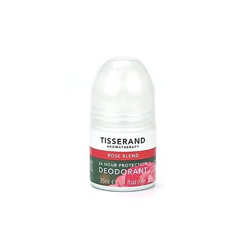 Deodorant Citron - Tisserand - Déodorant rafraîchissant - Rose musquée