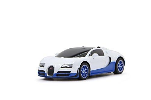 Jamara - 404586 - Bugatti Veyron Grand Sport Kit - Echelle 1/18 - Blanc