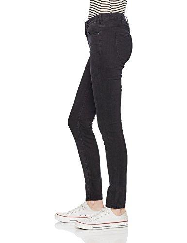 Scotch & Soda Maison Damen Slim Jeans (Schmales Bein) Nos-La Bohemienne-Precious Rock Schwarz (black 90)