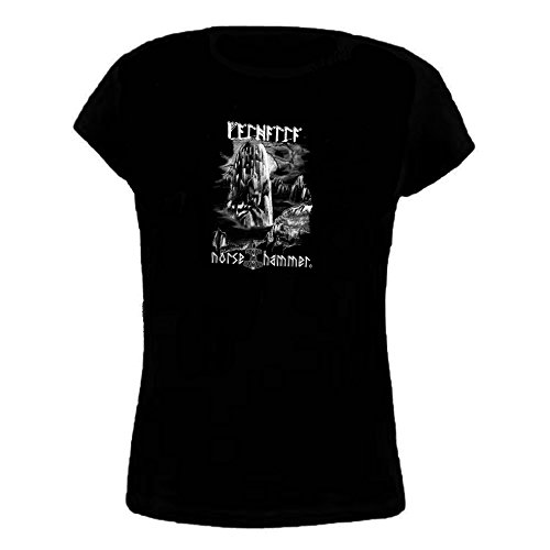 Norse Hammer -  T-shirt - Donna nero S