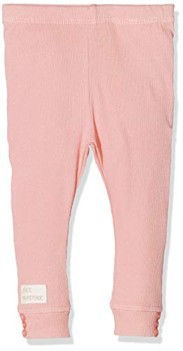 NAME IT Unisex Baby Leggings NBNDAFINI, Rosa (Strawberry Cream), (Herstellergröße: 80)