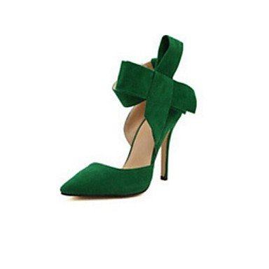 Moda Donna Sandali Sexy donna tacchi Primavera / Estate / Autunno tacchi Esterno in similpelle Stiletto Heel altri Nero / Blu Altri Red