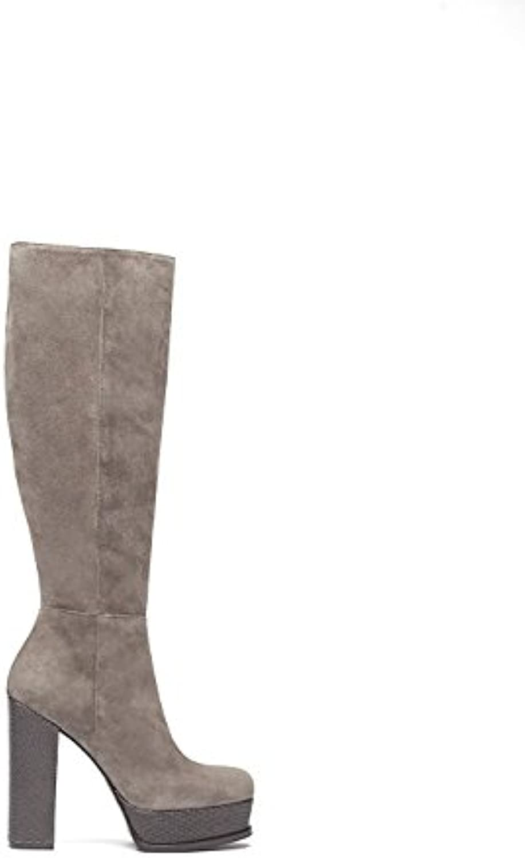 Poi Lei Romy - Damen-Schuhe/Exklusive Plateau-Stiefel Aus Echt-Leder - mit High-Heel Block-Absatz und schönerö