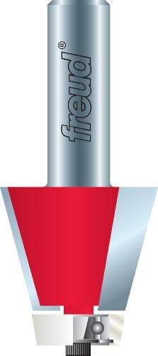 Freud 85-18712Grad abgewinkeltem von 1-3/4-Zoll Höhe Wate Schale Router Bit mit 1/2Zoll Schaft für Royal Stein, Gruber und Statron Waschbecken und Schalen -