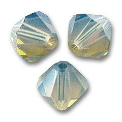 swarovski-crystal-bicones-3mm-light-grey-opal-x50
