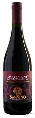 GRAGNANO RED WINE FROM SORRENTO PENINSULA D.O.C. 75cl - VINICOLA