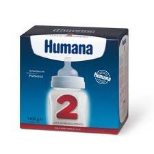 Humana 2 Latte di Proseguimento Indicato dai 6 Mesi, usato  Spedito ovunque in Italia