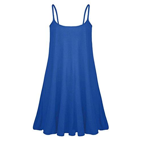 Itisme vestito - sera - senza maniche - donna blau small