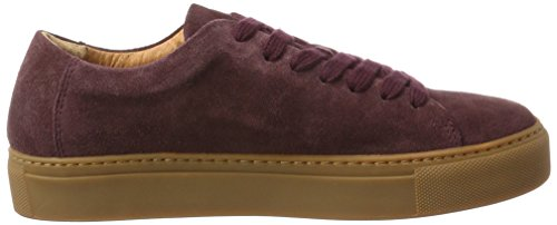 SELECTED FEMME Sfdonna Suede New Sneaker, Scarpe da Ginnastica Basse Donna Multicolore (Vineyard Wine)