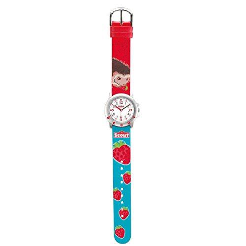 Scout Mädchen-Armbanduhr Analog Quarz Plastik 280393028