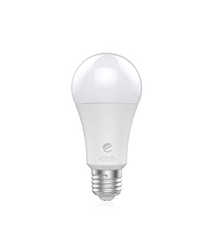 Eeco Wi-Fi Smart LED Lampadina, regolabile 75 W equivalente dimmerabile luci, controllo vocale, no Hub required, funziona con assistente ALEXA e Google smartphone Tablet controllata