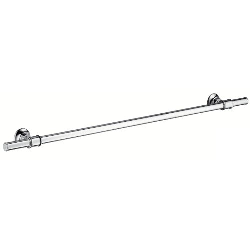 hansgrohe 42080820 Badetuchhalter Montreux 800 mm, Brushed Nickel -