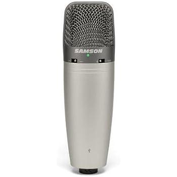 Samson CO3U USB Studio Microphone with Stand and Cakewalk Sonar LE