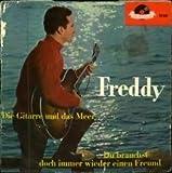 """FREDDY / Die Gitarre und das Meer / Du brauchst doch immer wieder einen Freund / Bildhülle / Polydor # 23881 / Deutsche Pressung / 7"""" Vinyl Single Schallplatte"""