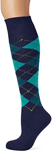 Burlington Damen Whitby Kniestrümpfe, per pack Mehrfarbig (bluebay 6581), 36/41 (Herstellergröße: 36-41)