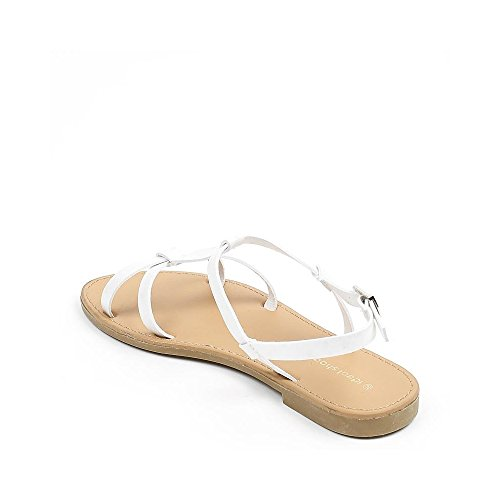 Ideal Shoes ,  Sandali donna Bianco
