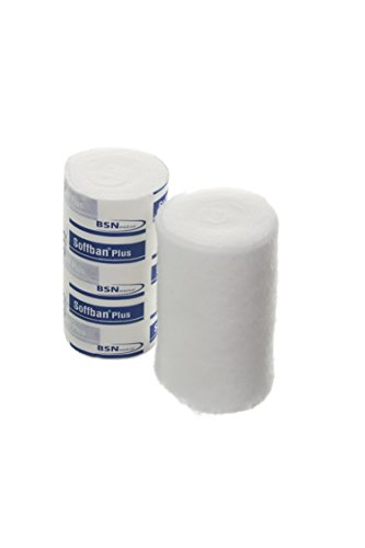Soffban BF7148201 Plus Synthetic Cast Padding, Non-Sterile, 10 cm Width, 2.7 m Length (Pack of 12)