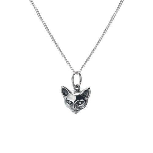 azzaria-silvercute-gatto-siamese-necklace925-pendente-in-argento-sterling-marchiati