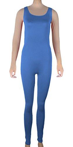 Howriis Damen Body Mehrfarbig Mehrfarbig Blau