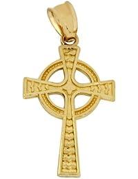 Anhanger Kleinere Goldkruzifix 10 Karat Wei�gold Kreuze Und Kruzifixe