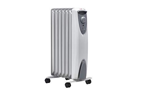 ewt Öko-Radiator NOC eco 15 TLS, elektrische Heizung für Ihr Zuhause, mobiler Heizkörper mit Thermostat, leicht & kompakt, Elektroheizung ohne Öl, 1500 W