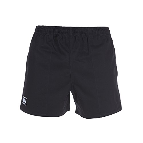 Canterbury Men's Professional Cotton Short - Black, Large