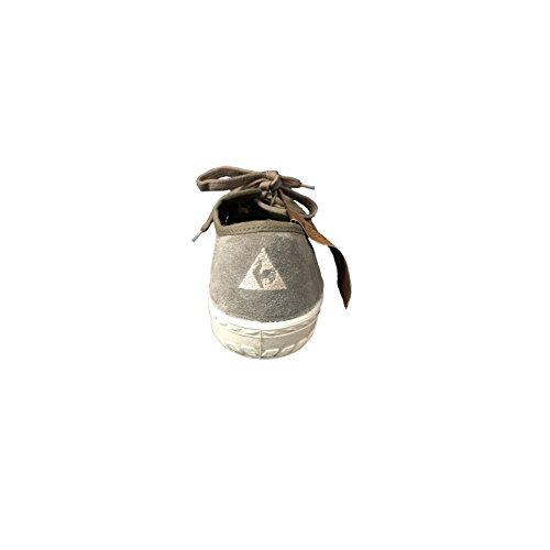 Chaussures Le Coq Sportif - Worker canvas Vert kaki, beige et ivoire
