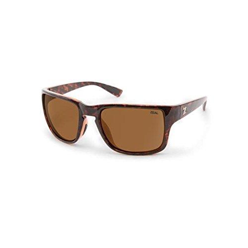 c4392b05c6b3 Zeal Optics Cascade Polarized Sunglasses - Tortoise Frame with Copper Lens  by Zeal