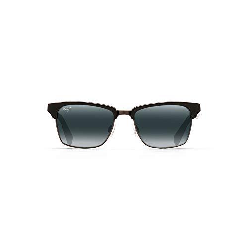 bcb154d8ab Maui Jim 257-17C Schwarz Kawika Retro Sunglasses Polarised Driving