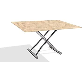Low Relevable And High Clair Extensible Basse Table Inside Chêne deCorBxW