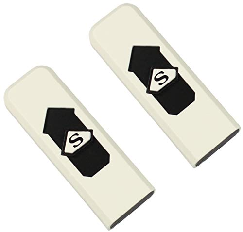 Com-fourMechero eléctrico recargable USB, resistente al viento