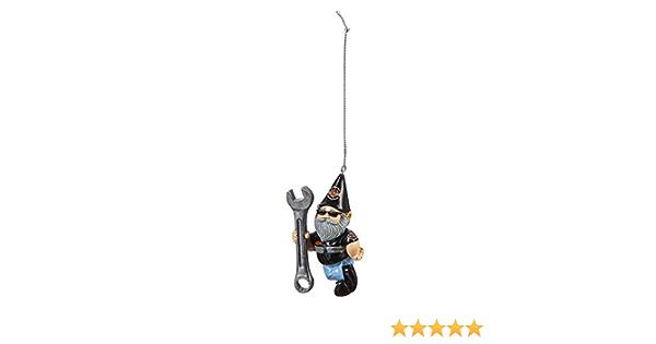 Prime Gnome Ornament H D Male Mechanic Mini Gartenzwerg Mann Auto