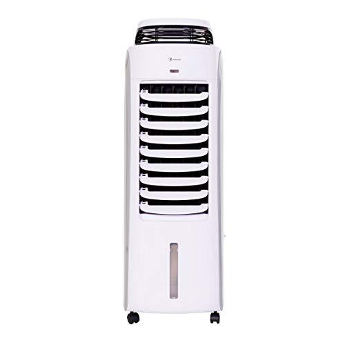 Haverland BaE   Refroidisseur d'Air Évaporatif Portable à Faible Consommation   jusqu'à 35 m²   Silencieux, 8 Vitesses, Volets oscillants   120W   Capacité Réservoir d'Eau 13L.