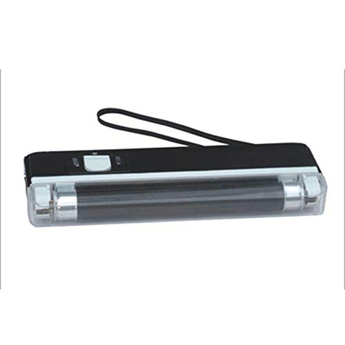 Portable Handheld Money Detector UV Lamp Forge Money Test Currency Bank Note Detector Battery Powered LED Flashlight