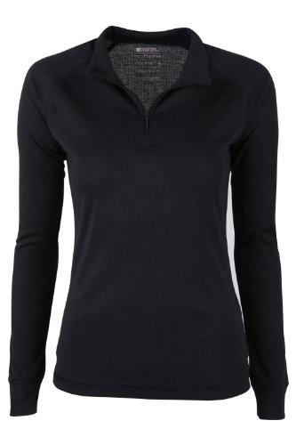 mountain-warehouse-talus-womens-long-sleeve-zip-neck-tee-shirt-baselayer-round-neck-t-shirt-base-lay