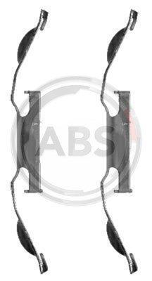 ABS 1221Q Kit di Pastiglie per freno a disco