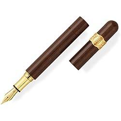 Montegrappa recorte de cigarros de pluma estilográfica, 18K dorado, edición limitada