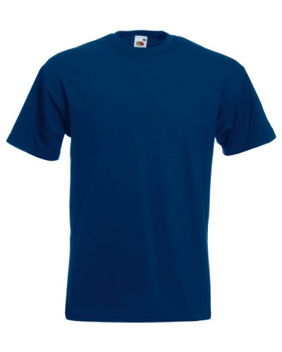 Fruit of the Loom Super Premium T-Shirt Navy M M,Navy