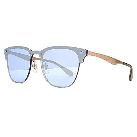 Ray-Ban Unisex-Erwachsene Sonnenbrille 3576N Schwarz (Negro), 41
