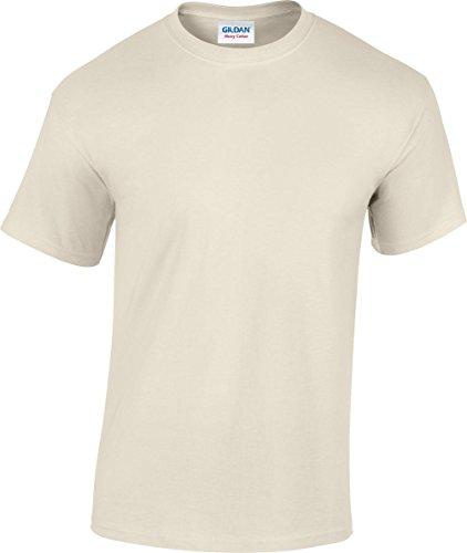 T-Shirt Heavy - Farbe: Natural - Größe: L (Knit Heavy Shirt)