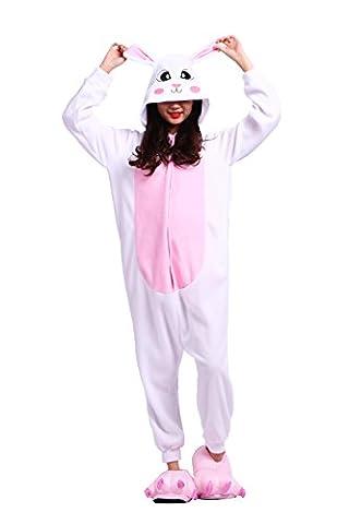 DarkCom Unisex Adult Cartoon Schlaf Anzüge Bunny Onesies Schlafanzug Cosplay Kostüme