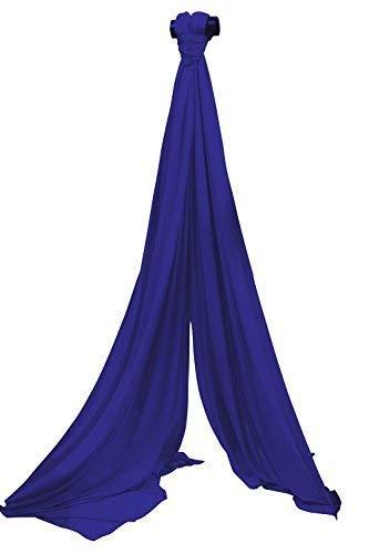 Vertikaltuch SchenkSpass 7m (Meter) für 3-4m Deckenhöhe (tissus, aerial fabric) (royal blau)