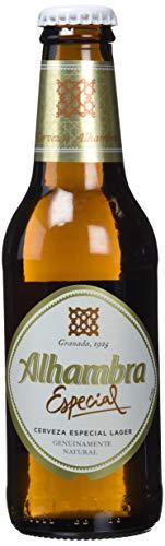 Alhambra Especial Cerveza - Pack de 12 Botellas x 250 ml - Total: 3 l