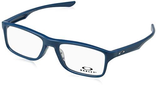 Oakley Unisex-Erwachsene Brillengestelle Plank 2.0, Blau (Azul), 53