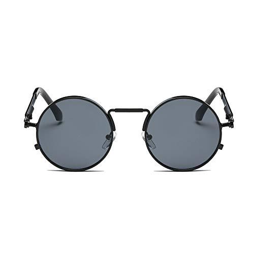 REALIKE Unisex Sonnenbrille High-Mode Neon Farben klare Linse Gläser Metall Brillengestell...