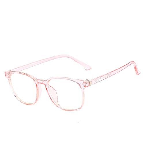 IMHERE W U Unisex Plain Clear Brille Ultra Light Dekoration Transparent Frauen Männer Brillen Verordnungs-optische Brillenfassungen